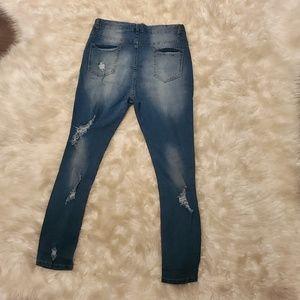 Jeans - High waisted skinny jeans